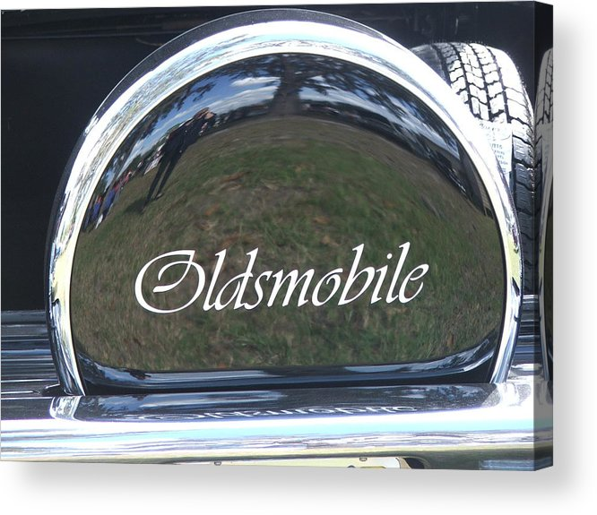 Car Acrylic Print featuring the photograph Olds by Renata Mayes
