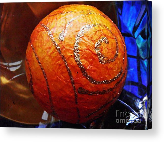 Abstract Acrylic Print featuring the photograph Ornaments 22 by Sarah Loft