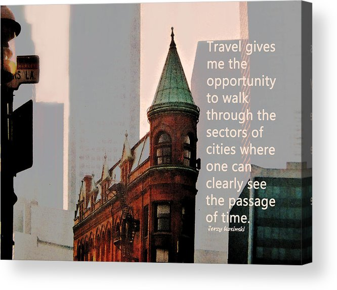 City Acrylic Print featuring the photograph Passage Of Time by Ian MacDonald