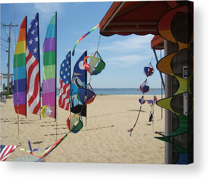 Provincetown Acrylic Print featuring the photograph Ptown Breeze by Patricia Williams