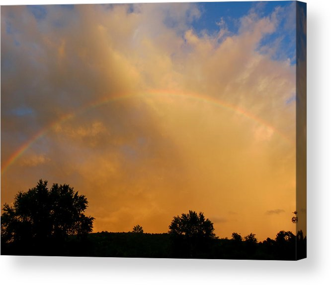 Rainbow Acrylic Print featuring the photograph Radiant by Azthet Photography