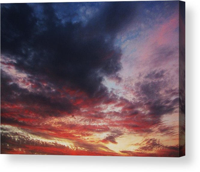 Sky Acrylic Print featuring the photograph Rainbow Sky by Todd Sherlock