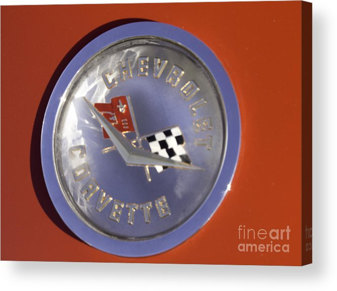 Red Image Acrylic Print featuring the photograph Remembering The Times by Cheryl Butler