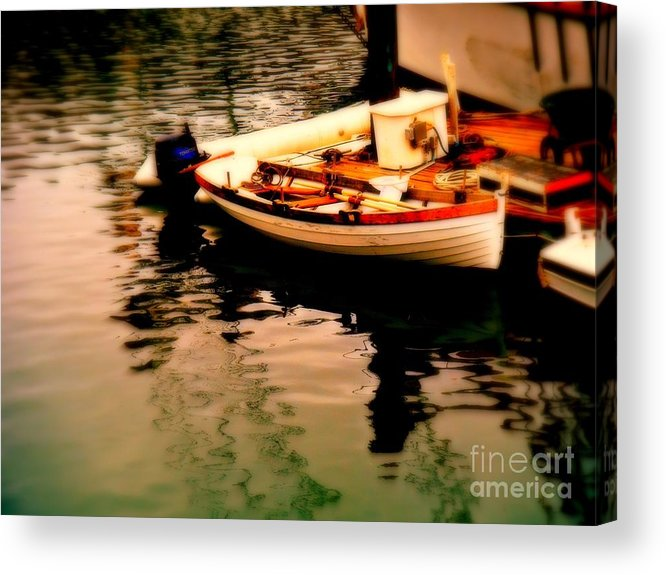 Boats Acrylic Print featuring the photograph Ripples And Reflections by Kevin Moore