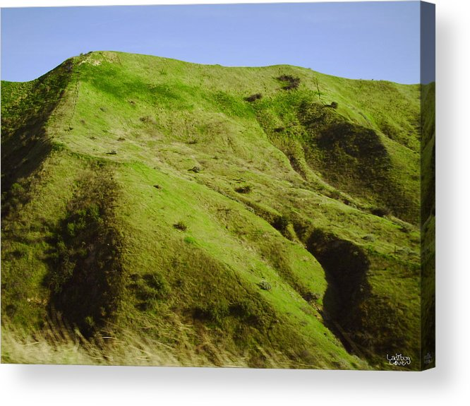 Hills Acrylic Print featuring the photograph Rolling Hills On Highway 60 by Ladibug Love