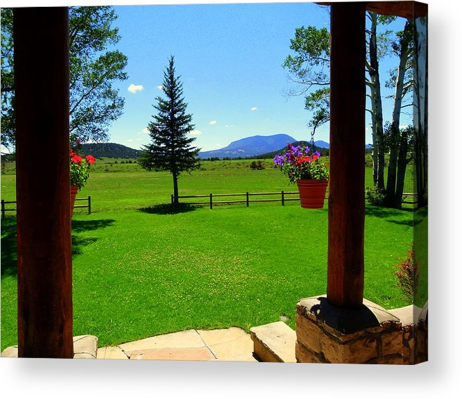 2011 Acrylic Print featuring the photograph Sipe Wildlife Center by Eric Neitzel
