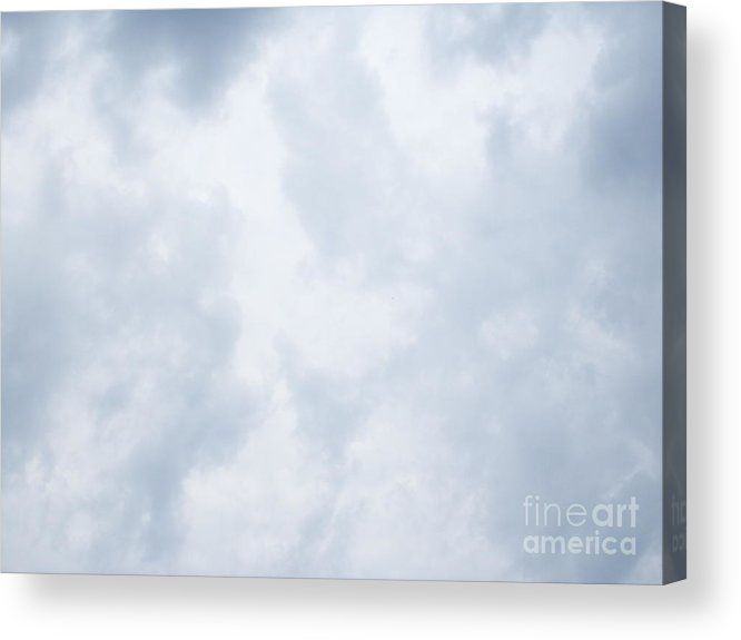 Sky Acrylic Print featuring the photograph Sky 17 by Alex Skiba