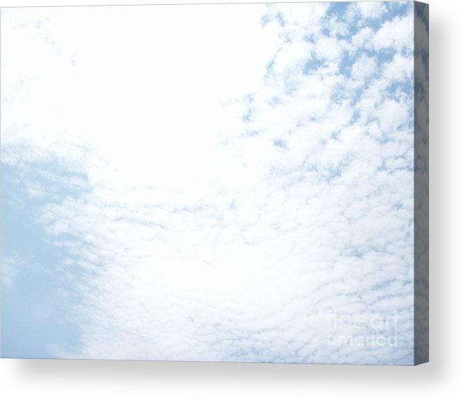 Sky Acrylic Print featuring the photograph Sky 19 by Alex Skiba