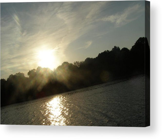 Sun Acrylic Print featuring the photograph Smokey Sun by Brityn Klehr