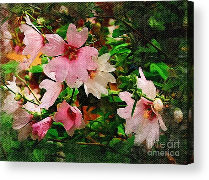 Blossoms Acrylic Print featuring the photograph Spring Is In Blossom by Marion Headrick
