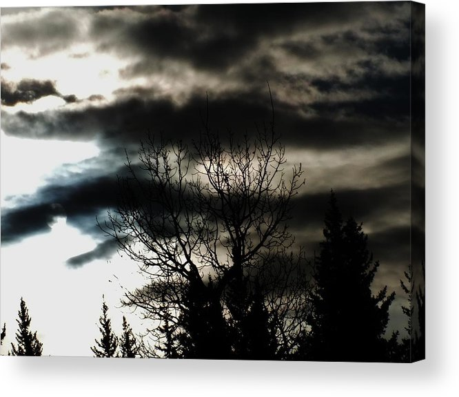 Landscape Acrylic Print featuring the photograph Stormy by Jennifer Kelley
