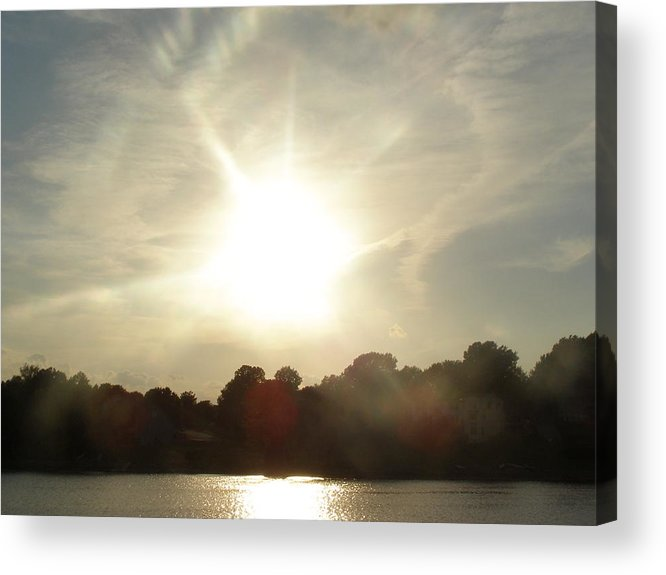 Landscape Acrylic Print featuring the photograph Sunny Beams by Brityn Klehr