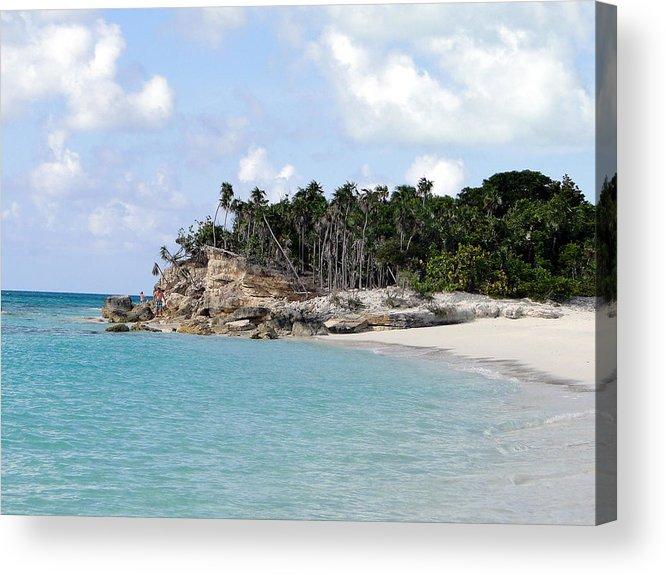 Tropical Island Acrylic Print featuring the photograph Turks 12 by Allan Rothman