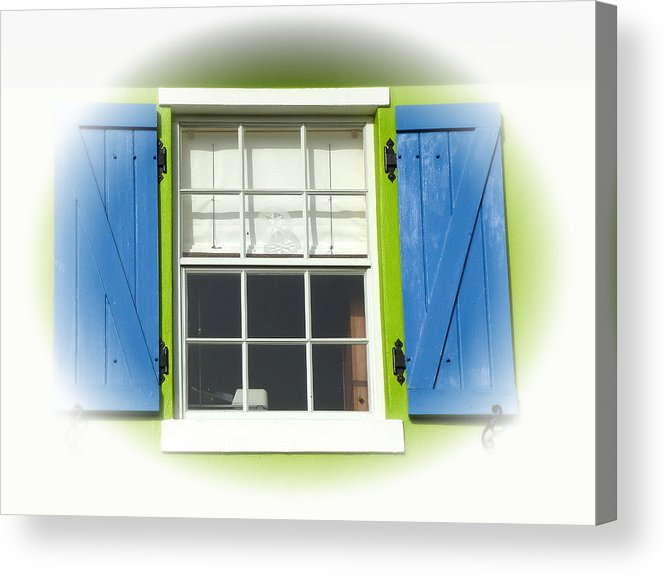 Window Acrylic Print featuring the photograph Turks 19 by Allan Rothman