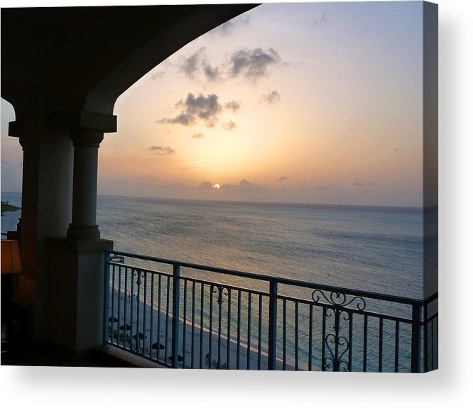 Sunset Acrylic Print featuring the photograph Turks 20 by Allan Rothman