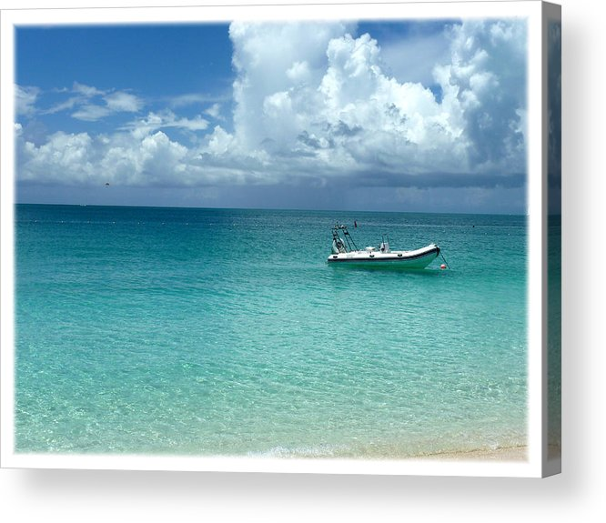 Clouds Acrylic Print featuring the photograph Turks 36 by Allan Rothman