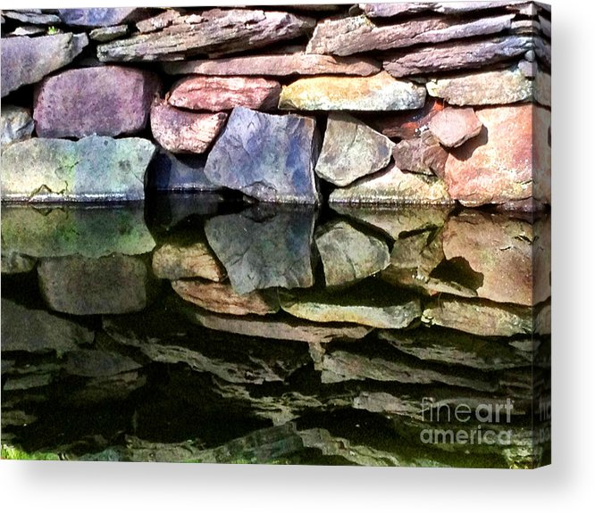 Pond Acrylic Print featuring the photograph Twice by Louis Sarkas