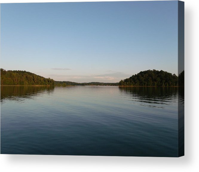 Two Islands Acrylic Print featuring the photograph Two Islands by Brian Maloney