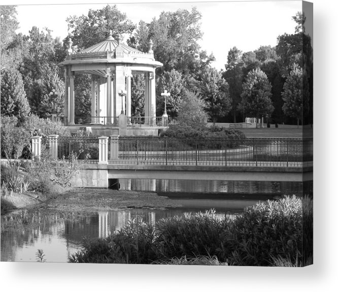 Park Acrylic Print featuring the photograph Walk In The Park by Sherry Beagle