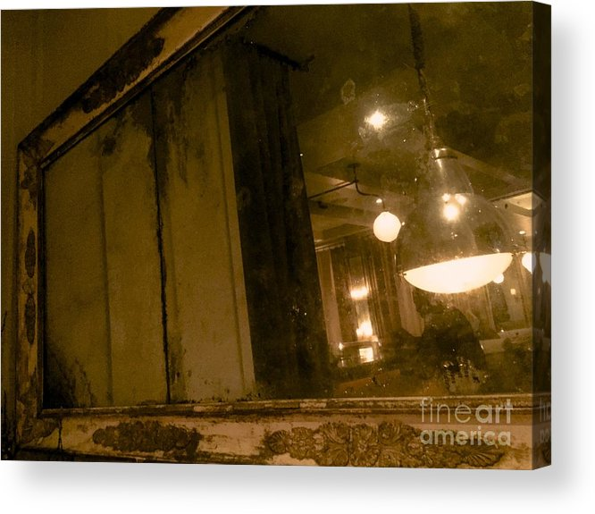 Mirror Acrylic Print featuring the photograph 09032015020 by Debbie L Foreman