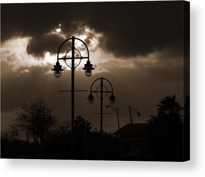 New Orleans Acrylic Print featuring the photograph A Storm Is Brewing by Shawn McElroy