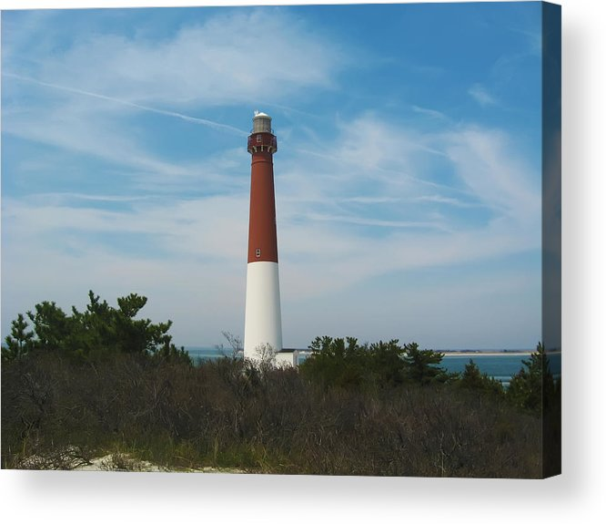Barnegat Acrylic Print featuring the photograph Barnegat Lighthouse - New Jersey by Bill Cannon