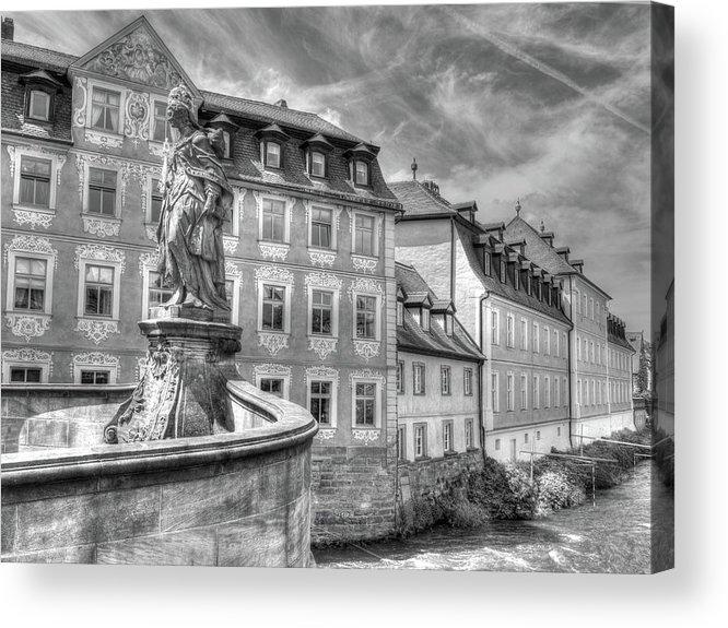 Bamberg Germany Acrylic Print featuring the digital art 311 by Mark Brooks