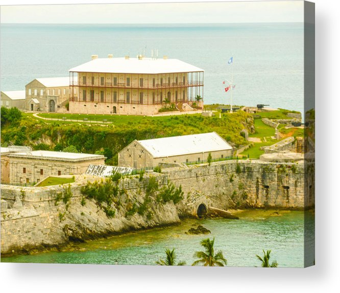 Bermuda Acrylic Print featuring the photograph Bermuda by William Rogers