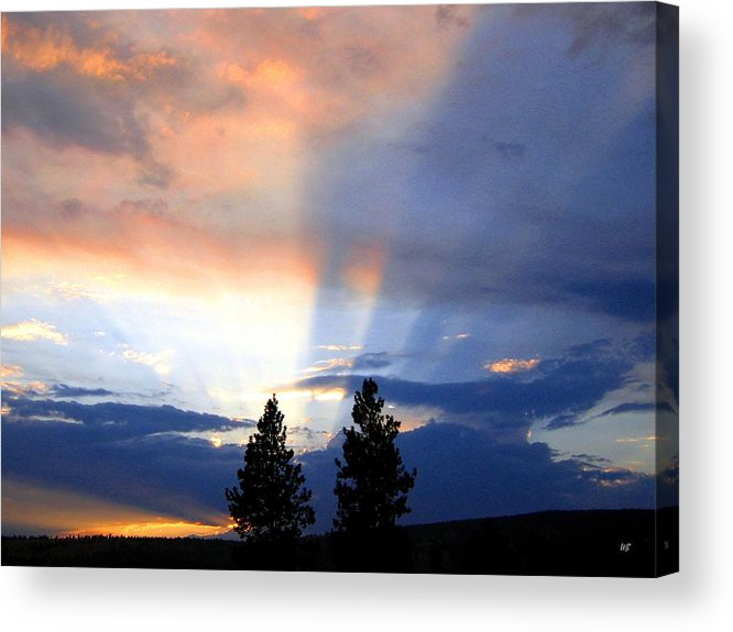 Sky Acrylic Print featuring the photograph A Riveting Sky by Will Borden