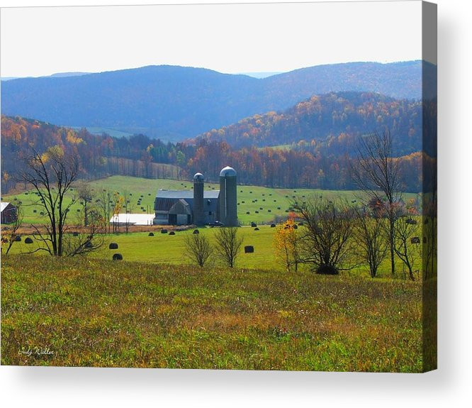 Farm Acrylic Print featuring the photograph A Special Place by Judy Waller