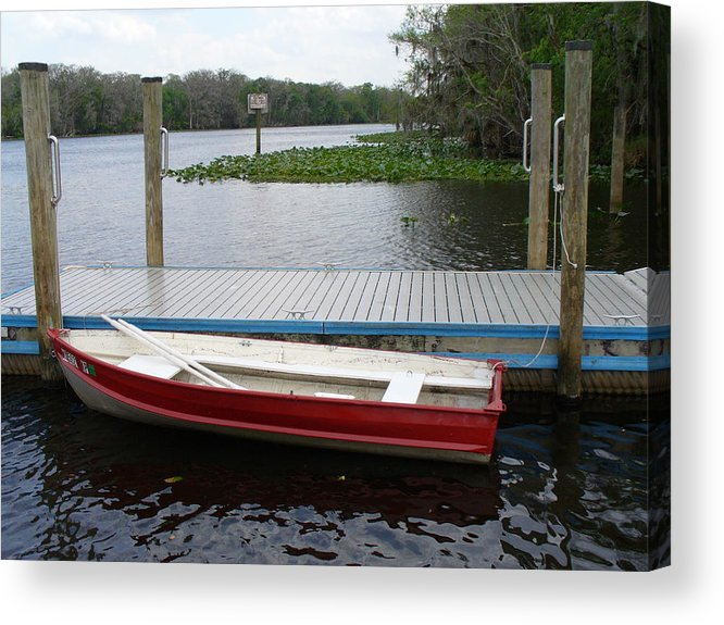 Water Acrylic Print featuring the photograph Afloat by Stephanie Richards