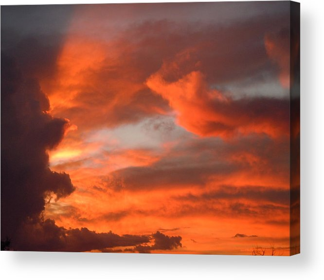 Storm Acrylic Print featuring the photograph After The Storm 1 by Dan Whittemore