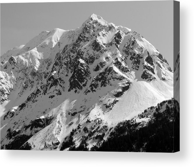 Alaska Acrylic Print featuring the photograph Alaskan Peak by Ty Nichols