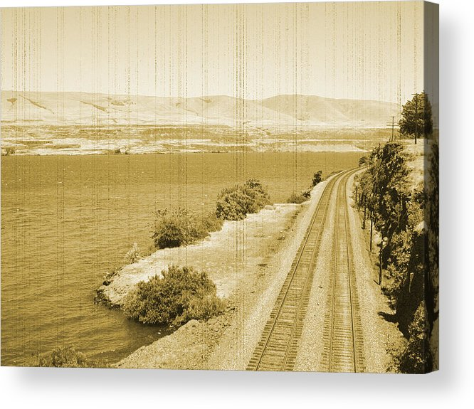 Acrylic Print featuring the photograph All Aboard by Bonnie Bruno