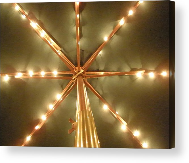Lights Acrylic Print featuring the photograph All Lit Up by Siobhan Yost