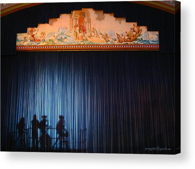 Stage Acrylic Print featuring the photograph All The World Is A Stage by Gerard Yates