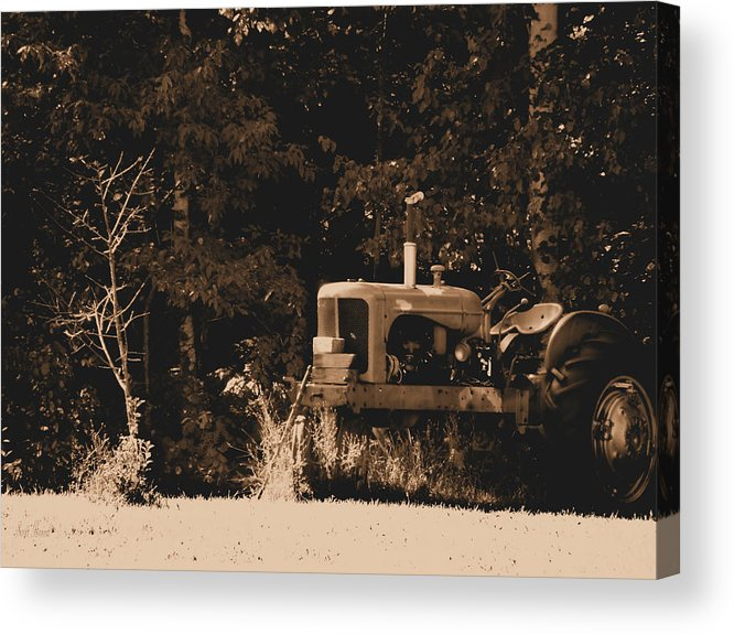 Hovind Acrylic Print featuring the photograph Allis Chalmers by Scott Hovind