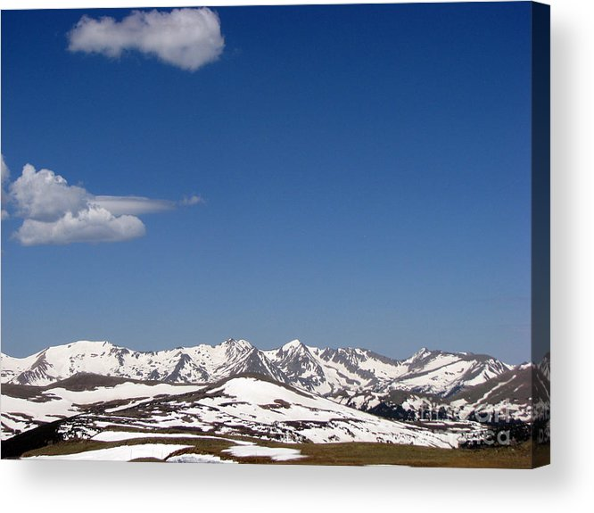 Mountains Acrylic Print featuring the photograph Alpine Tundra Series by Amanda Barcon