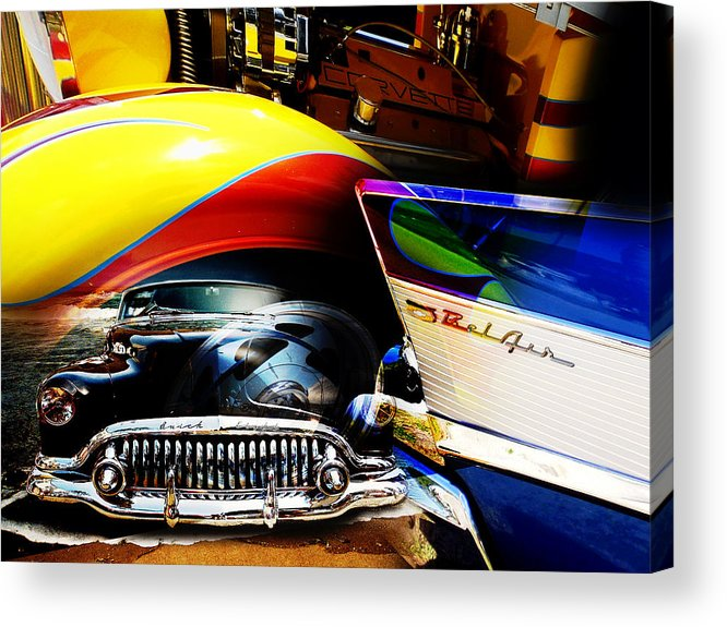 Muscle Cars Acrylic Print featuring the photograph American Muscle by Phil Bishop