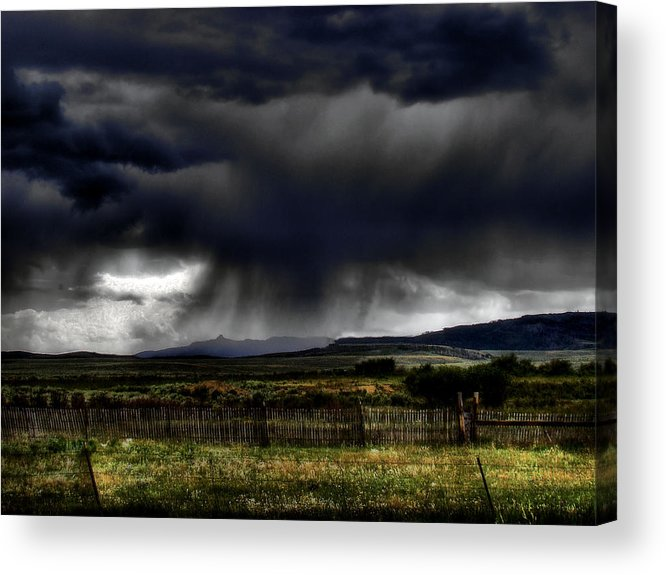 Landscape Acrylic Print featuring the photograph Apocalyptic by Tingy Wende