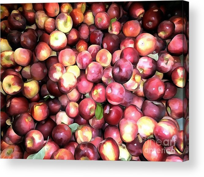 Red Apples Acrylic Print featuring the photograph Apples by Janine Riley
