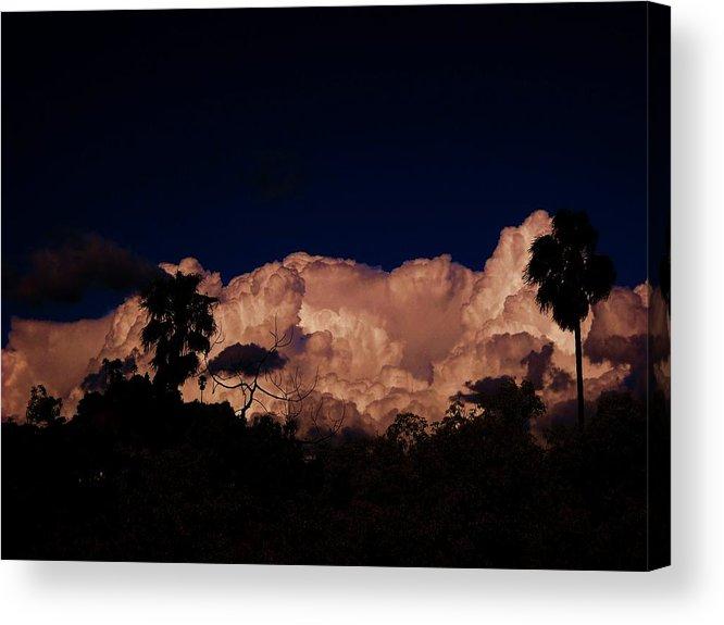 Cloudy Acrylic Print featuring the photograph Armageddon One by Adolfo hector Penas alvarado