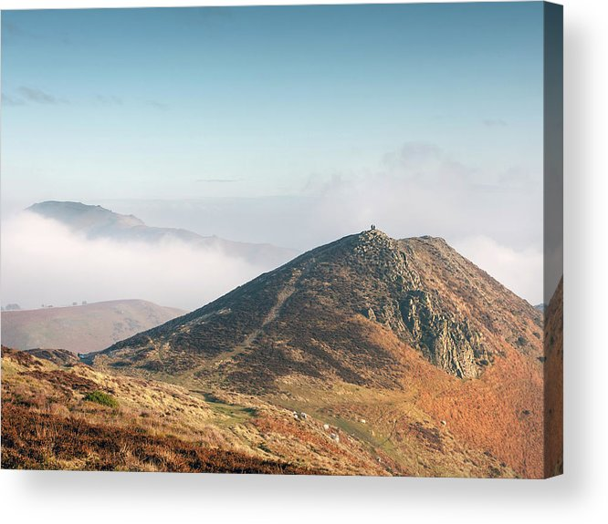 Church Stretton Acrylic Print featuring the photograph At The Devil's Mouth by Richard Greswell