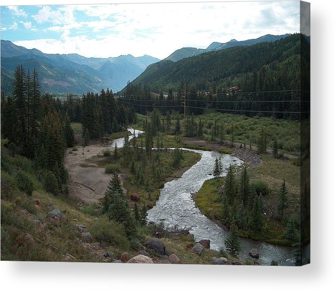 Landscape Acrylic Print featuring the photograph August In Colorado by Janet Hall