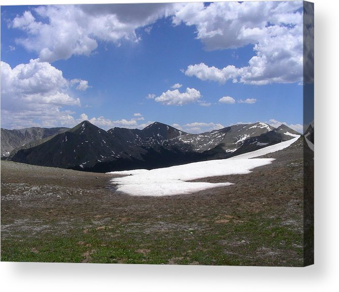 Mountains Acrylic Print featuring the photograph August by Peter McIntosh