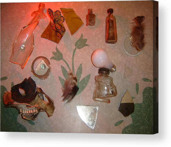 Still Life Acrylic Print featuring the photograph Bad Bulb by Dean Corbin