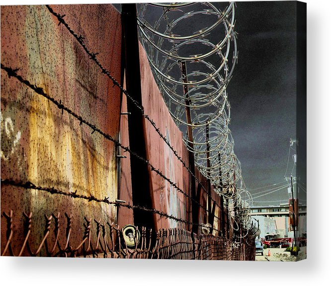 Wall Acrylic Print featuring the photograph Ballard In Seattle by Jeff Burgess