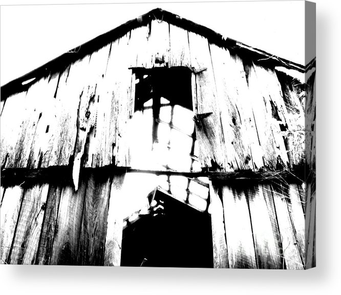 Barn Acrylic Print featuring the photograph Barn by Amanda Barcon
