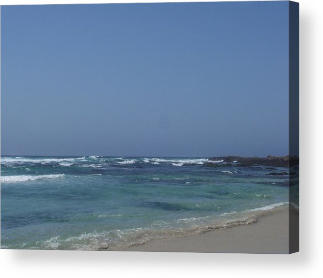 Ocean Acrylic Print featuring the photograph Beach 2 by Dawn Marie Black