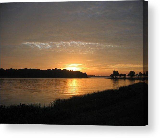 Sunrise-sunset Photographs Acrylic Print featuring the photograph Beginning Light by Frederic Kohli
